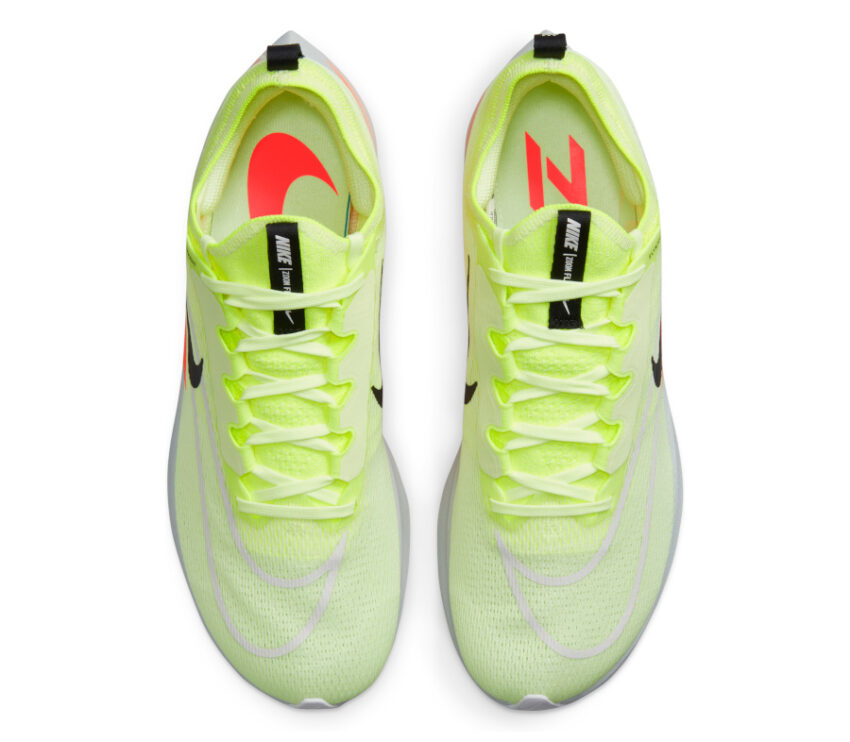 tomaia scarpe uomo reattive nike zoom fly 4 fluo