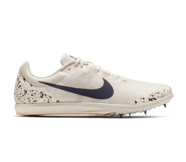 scarpa da pista mezzofondo nike zoom rival d 10 bianca