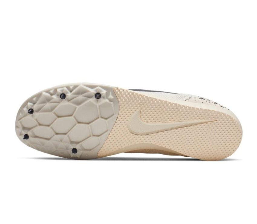 suola scarpa da pista mezzofondo nike zoom rival d 10 bianca