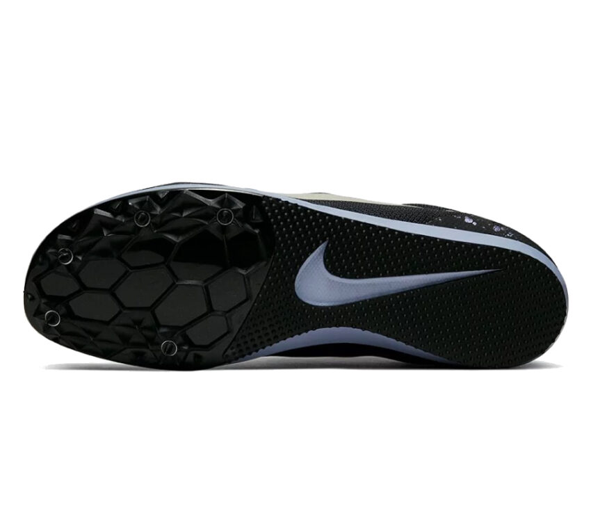 suola scarpa da pista mezzofondo nike zoom rival d 10 nera