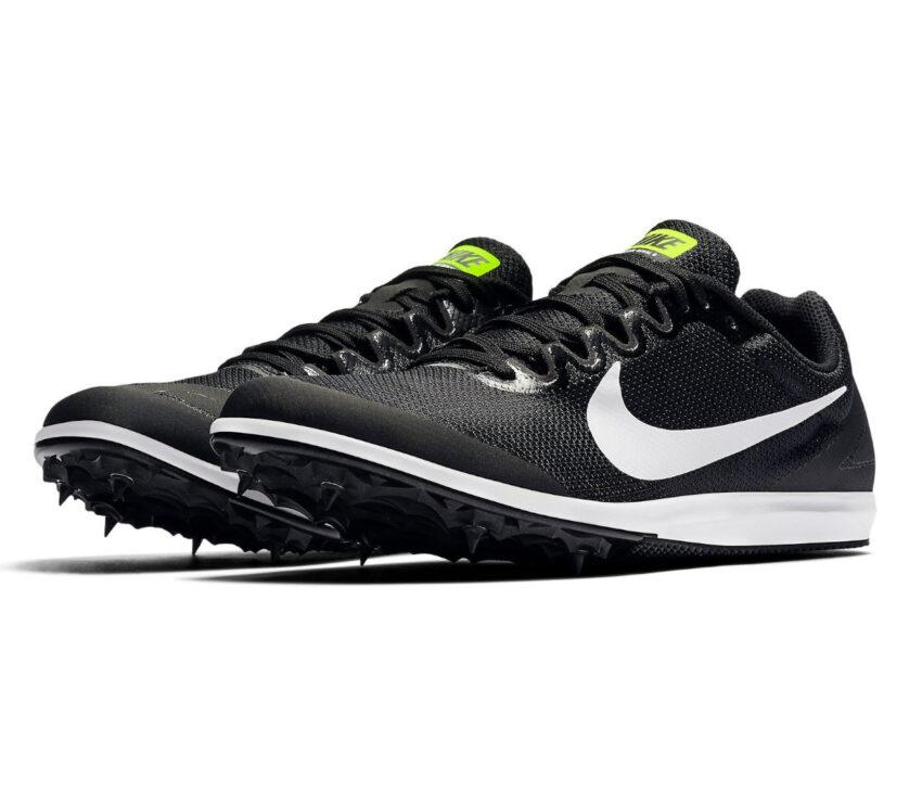 coppia scarpa da pista mezzofondo nike zoom rival d 10 nera