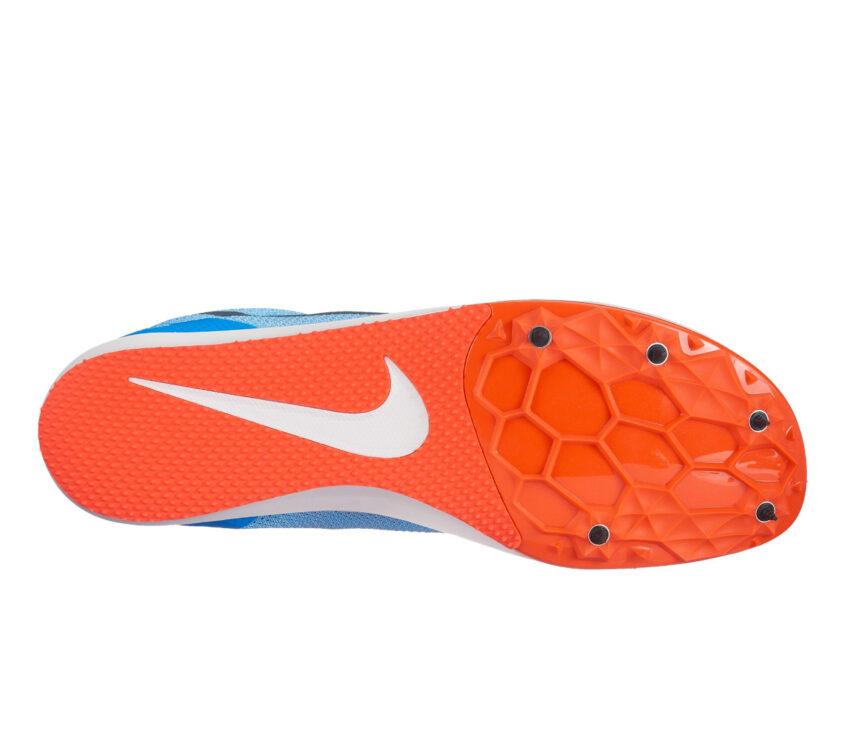 suola scarpa da pista mezzofondo nike zoom rival d 10 blu