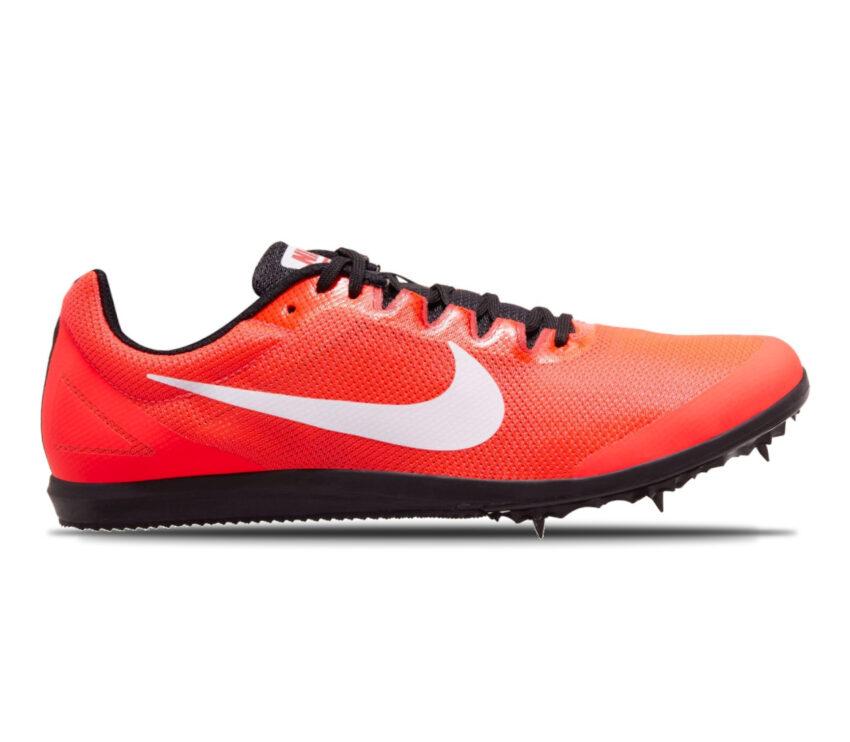 scarpa da pista mezzofondo nike zoom rival d 10 rosso