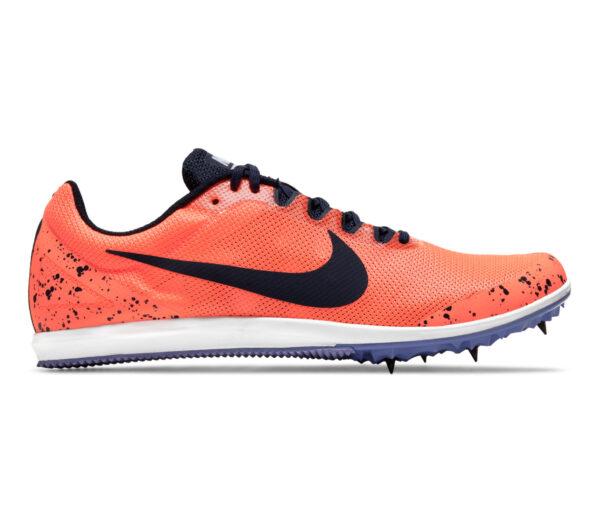 scarpa da pista mezzofondo nike zoom rival d 10 arancio