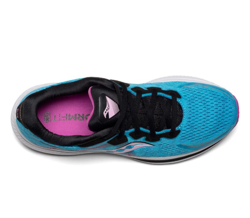 tomaia scarpa running donna pronazione saucony omni 20 blu