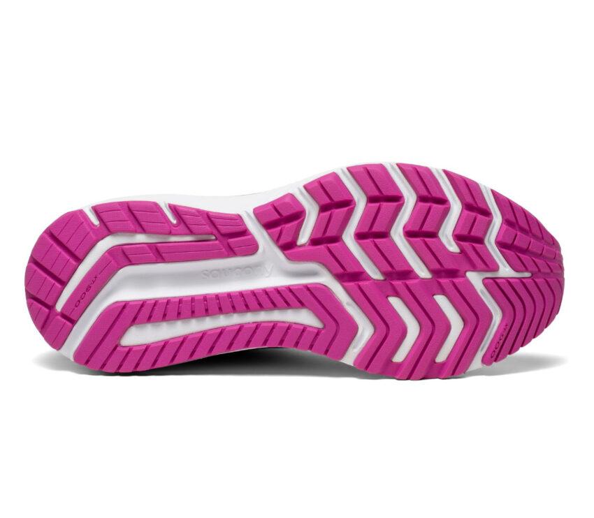 suola scarpa running donna pronazione saucony omni 20 blu