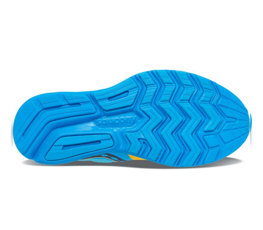 suola scarpe running inverno saucony ride 14 runshield