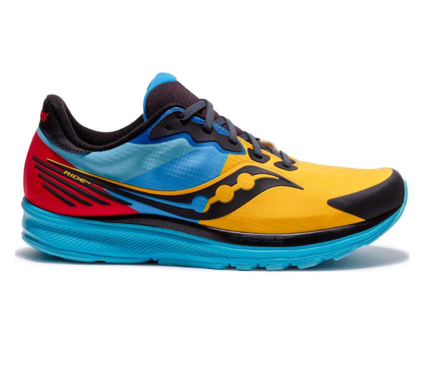 scarpe running inverno saucony ride 14 runshield