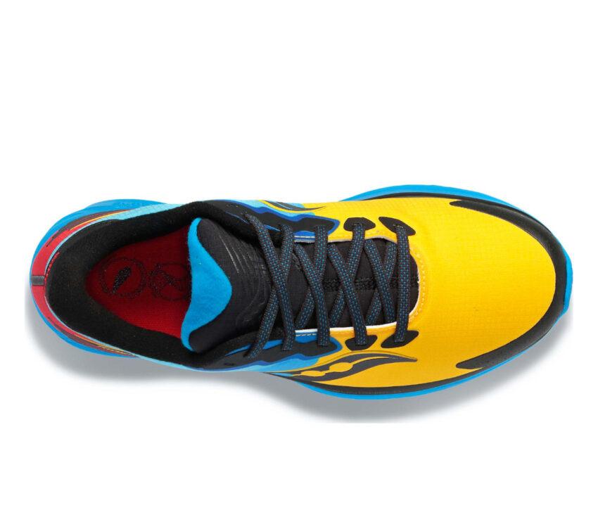 tomaia scarpe running inverno saucony ride 14 runshield