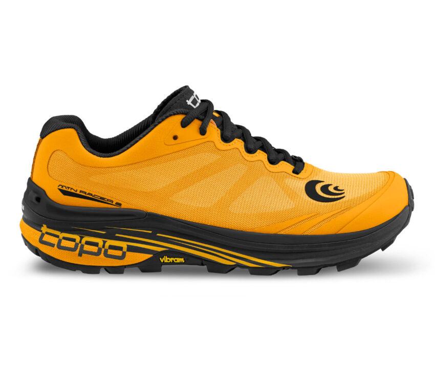 scarpa trail running topo mtn racing 2 arancione