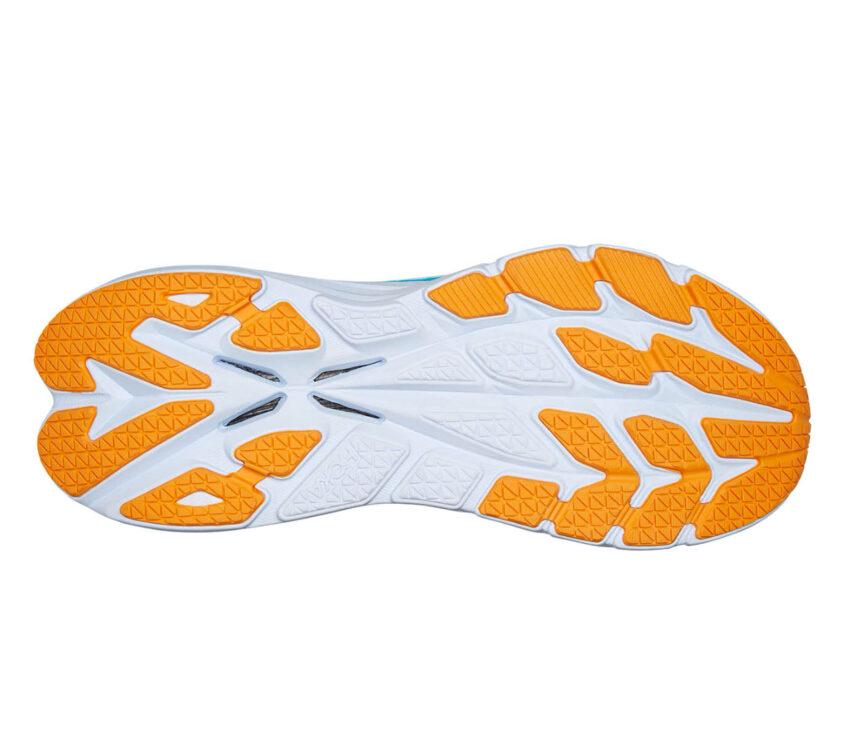 suola scarpa da running con fibra di carbonio hoka bondi x uomo