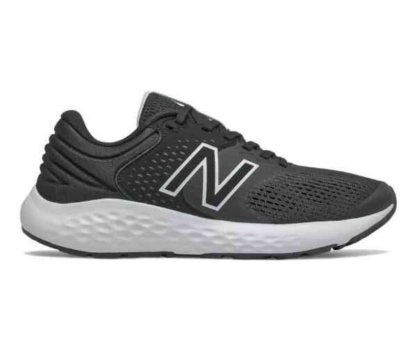 scarpa da running neutra e ammortizzata da donna nb 520v7 nera