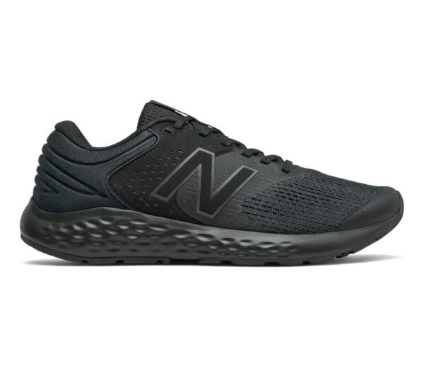 scarpa da running neutra e ammortizzata da uomo nb 520v7 nera