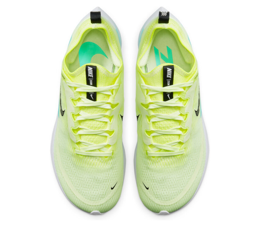 tomaia scarpa running nike zoom fly 4 fluo donna
