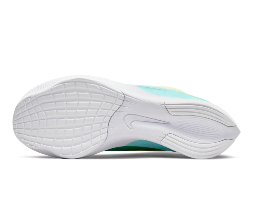 suola scarpa running nike zoom fly 4 fluo donna