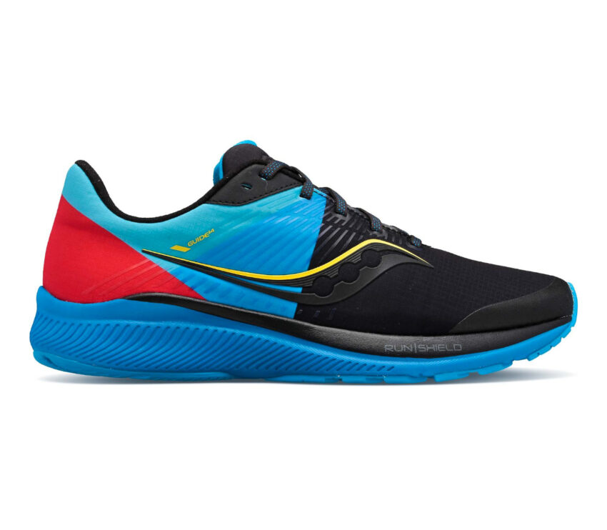 scarpe running pronatori uomo saucony guide 14 runshield impermeabili